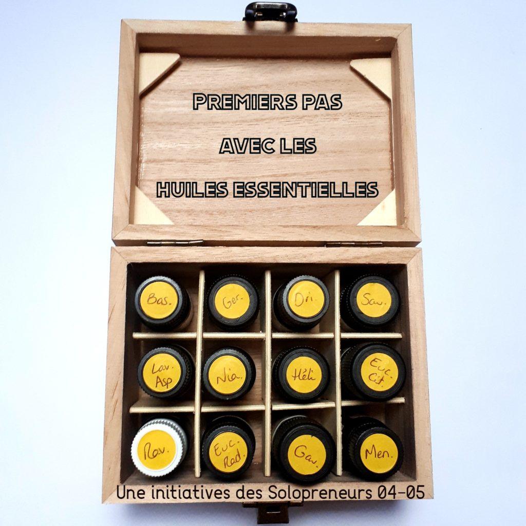 Com visioconférences huiles essentielles Solopreneurs