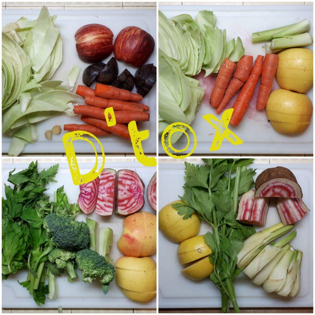 Jus de légumes, une recette détox et reminéralisante