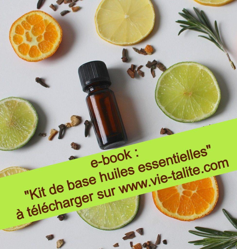 e-book : kit de base huiles essentielles
