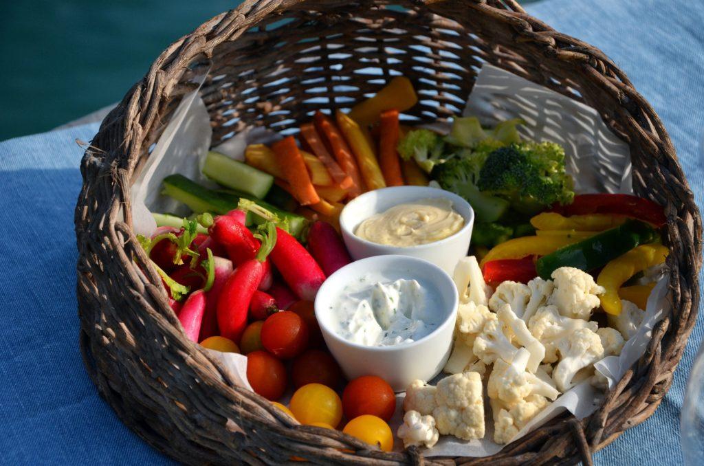 Manger cru et coloré