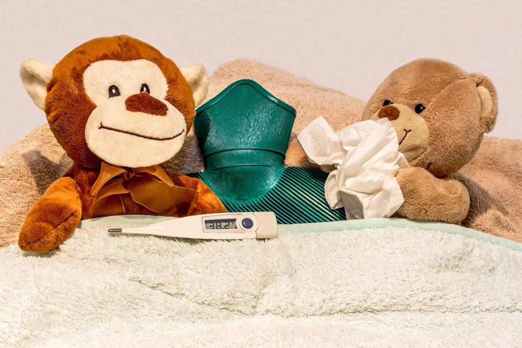 La fièvre, sur la deuxième ligne défense du système immunitaire
