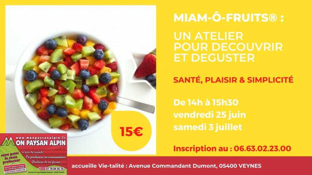 Atelier Miam-ô-Fruits